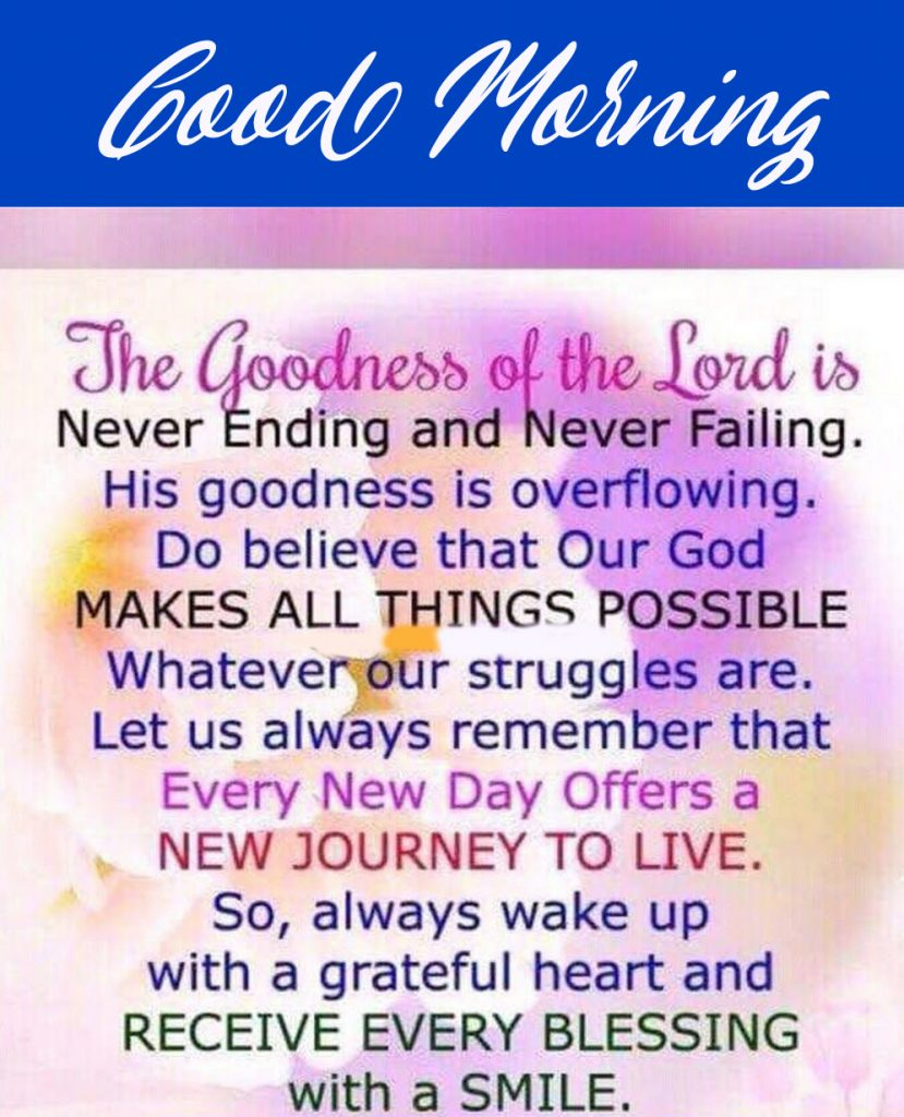 Good Morning Wishes and Blessings (new collection)