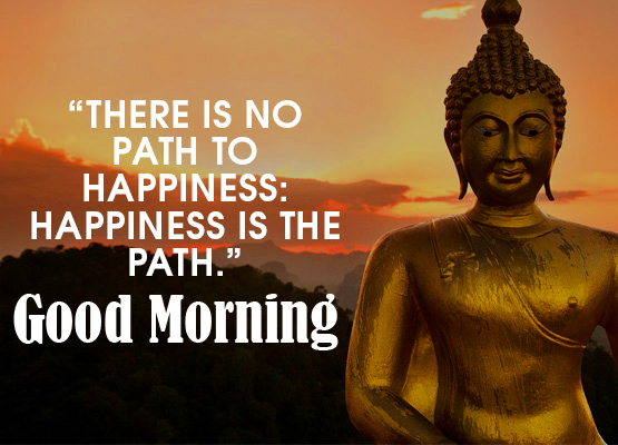 Best Good Morning Wish with Buddha Quotes