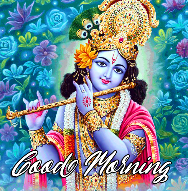 Best Krishna Good Morning Wallpaper