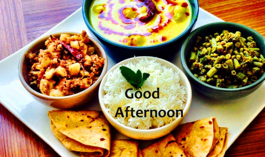 66+ Good Afternoon Lunch Image