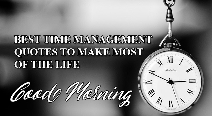 Best Time Quote Good Morning Image
