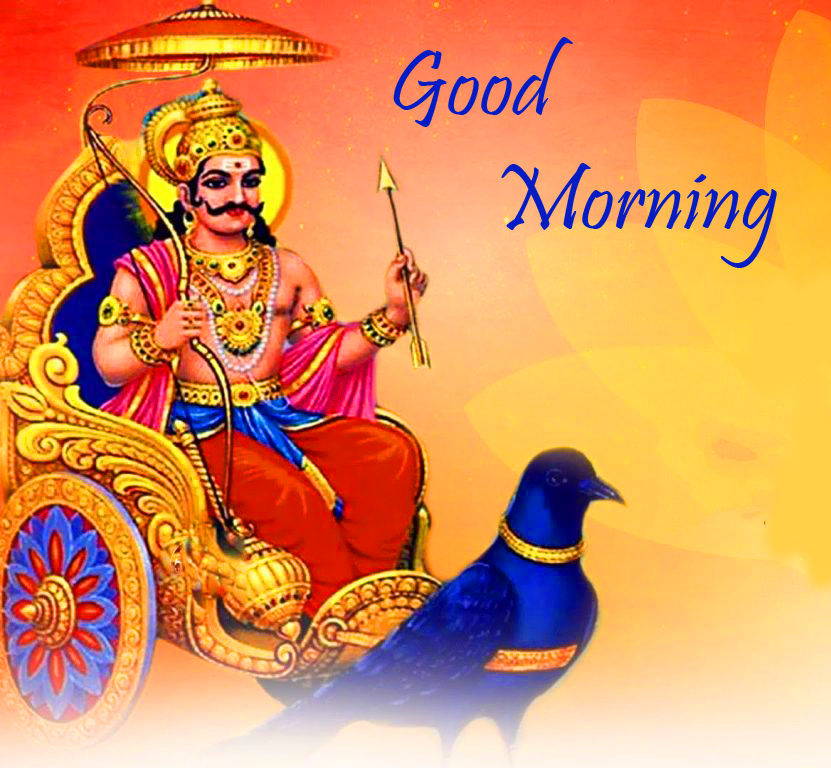 Best and Latest Good Morning Shani Dev Pic
