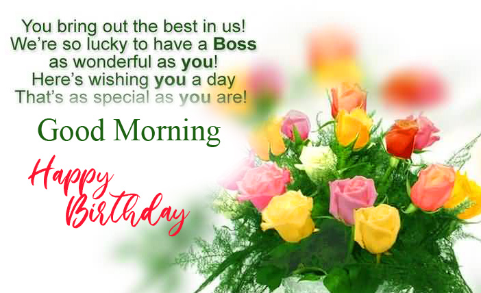 Best and Latest Happy Birthday Good Morning Image