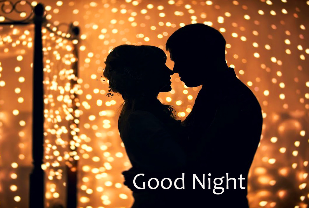 Best and Latest Romantic Couple Good Night Image