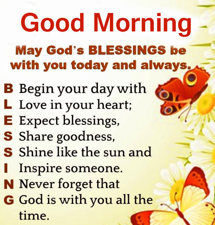 Blessing Good Morning Quotes Wallpaper