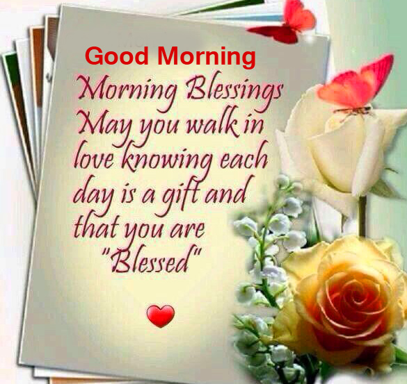 Blessing Quotes with Good Morning Wish