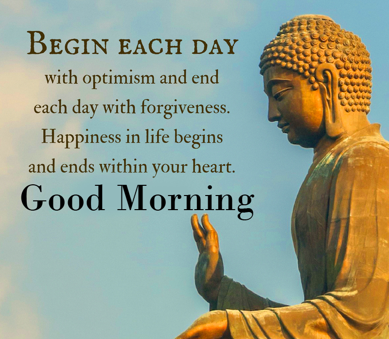 Buddha Good Morning Quotes Picture