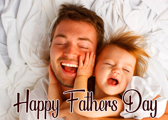 Cheerful Happy Fathers Day Image