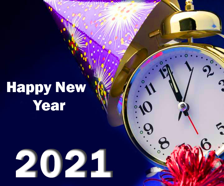 Clock Happy New Year Image