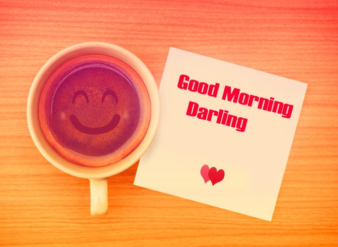 Coffee with Good Morning Darling Card