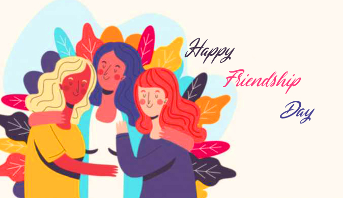 Colourful Happy Friendship Day Image HD
