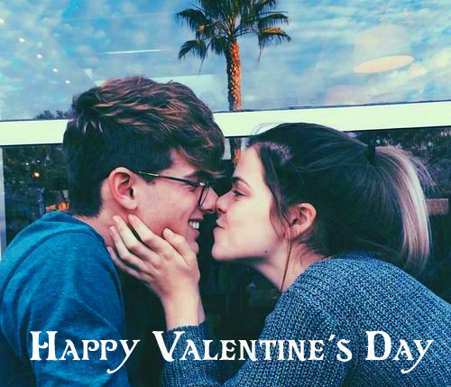 Cute Couple Happy Valentines Day Image