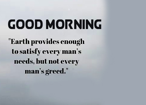Earth Quotes Good Morning Image