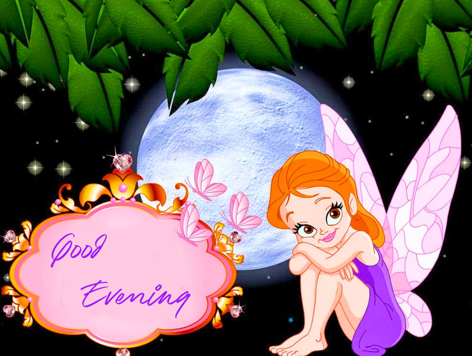 Fairy with Good Evening Wish