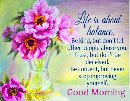 Flowers Quotes Good Morning Image