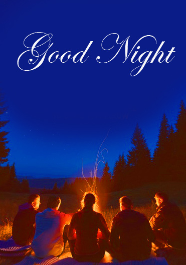 Friends Good Night Image for
