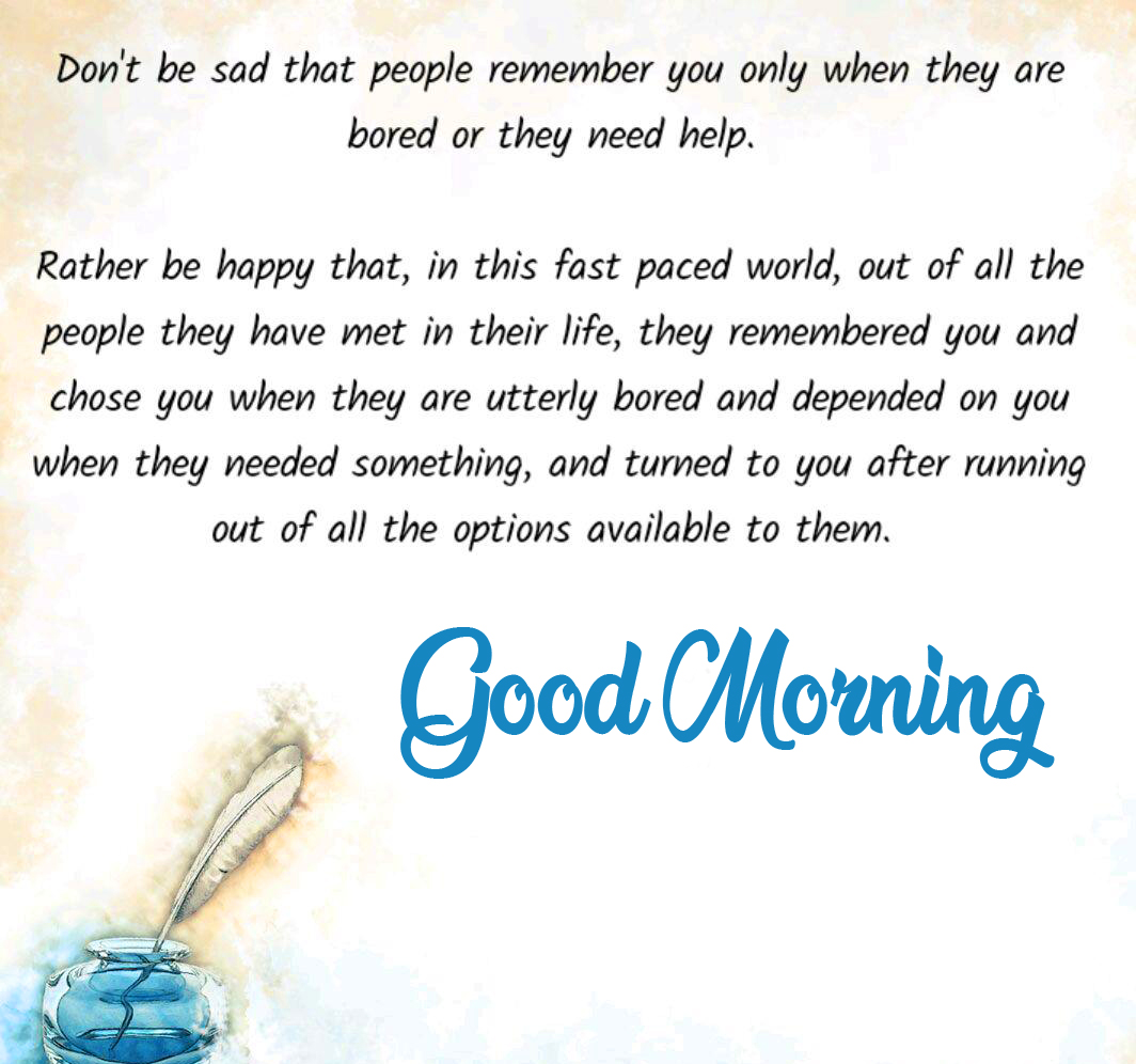 Full HD Good Morning Message Picture