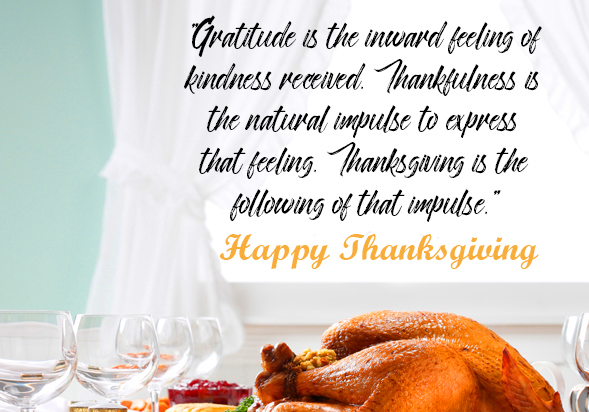 Full HD Happy Thanksgiving Wallpaper with Quotes