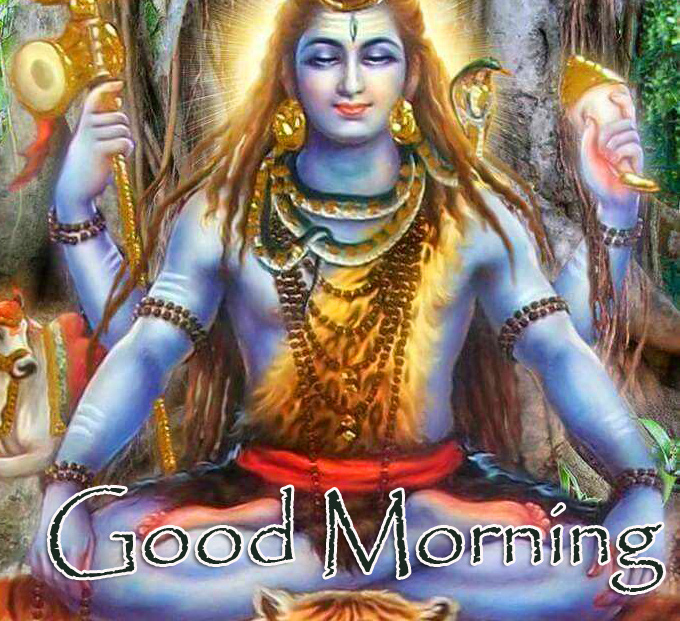 Full HD Shiva Good Morning Picture