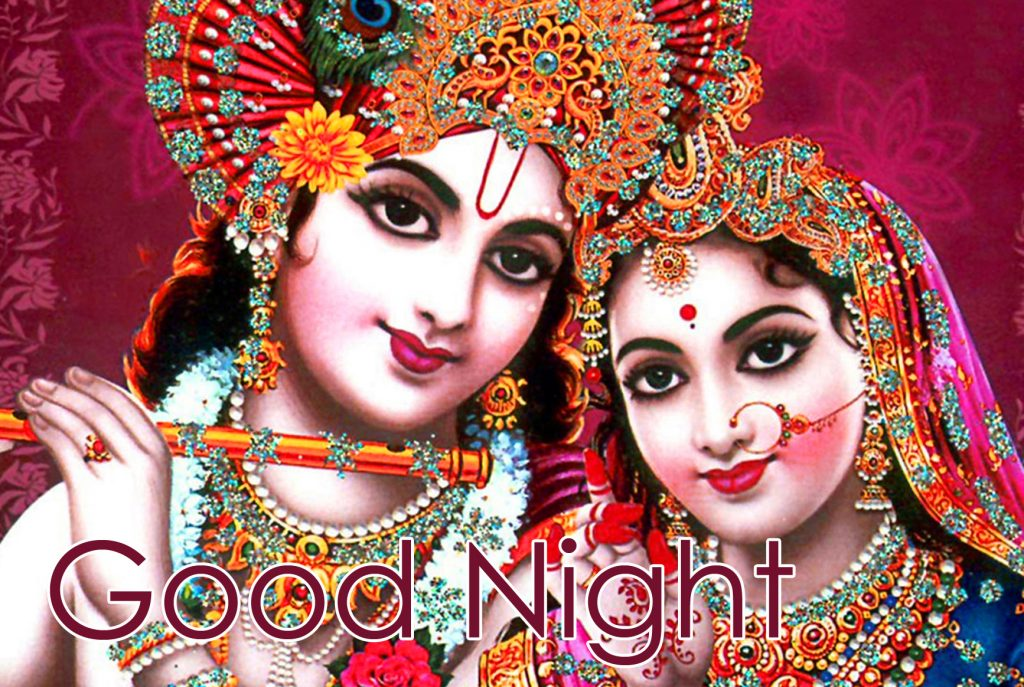 52+ Radha Krishna Good Night Image
