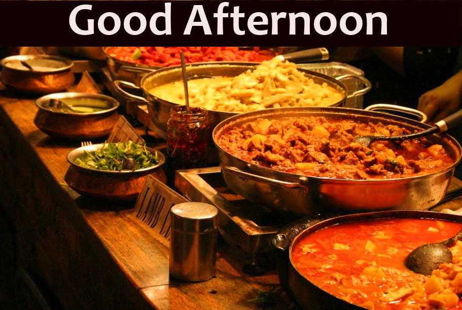 Good Afternoon Lunch Wish Picture