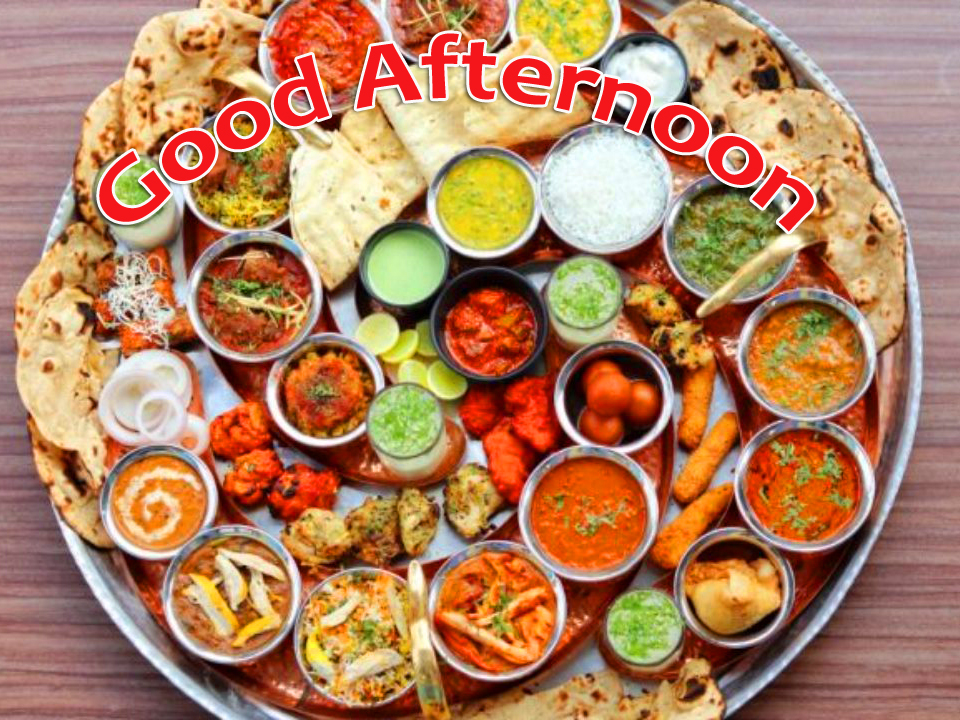 Good Afternoon Lunch for Whatsapp