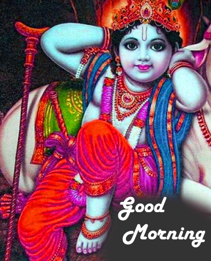 Good Morning Bal Krishna Photo