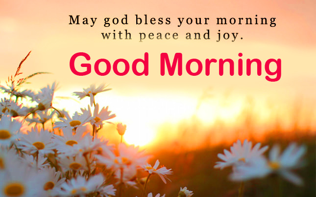 Good Morning Blessing Message