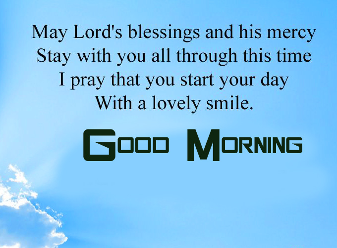 Good Morning Blessing Wishes