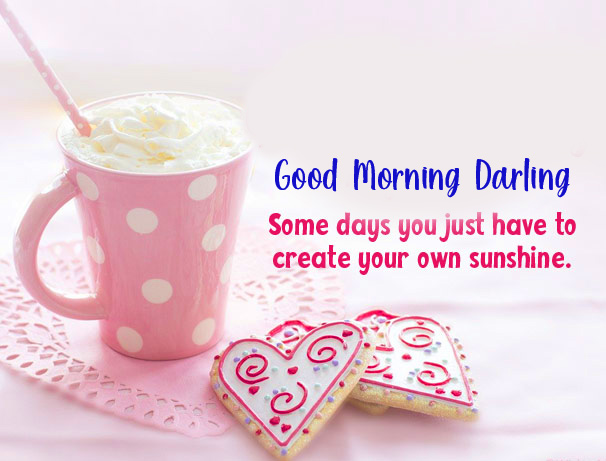 Good Morning Darling Message with Quotes Wishes