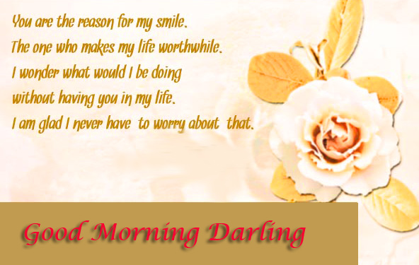 Good Morning Darling Quotes Picture