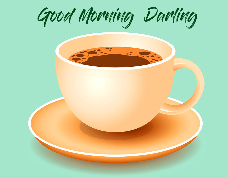 Good Morning Darling with Coffee Image