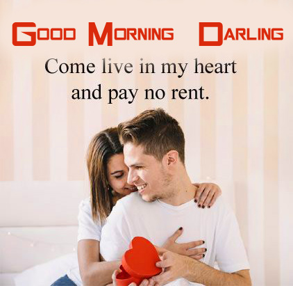 Good Morning Darling with Couple Image
