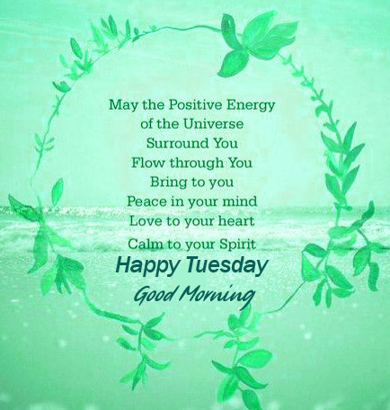 Good Morning Happy Tuesday Quotes Wallpaper