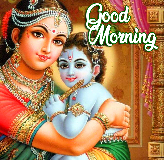 Good Morning Krishna Image