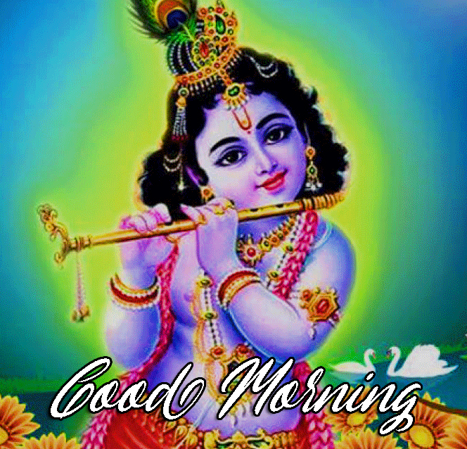 Good Morning Krishna Photo
