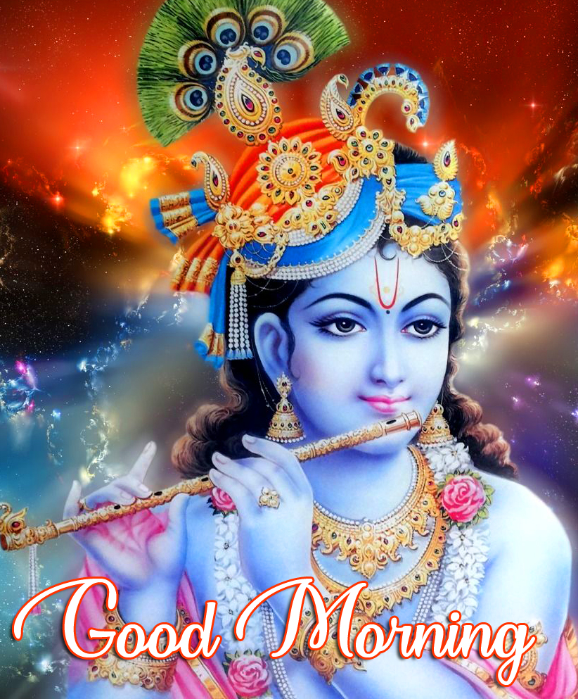 Good Morning Krishna Pic