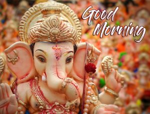 Good Morning Lord Ganesha Wallpaper