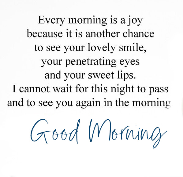 Good Morning Message Pic and Wallpaper