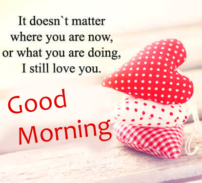 Good Morning Message for Lover