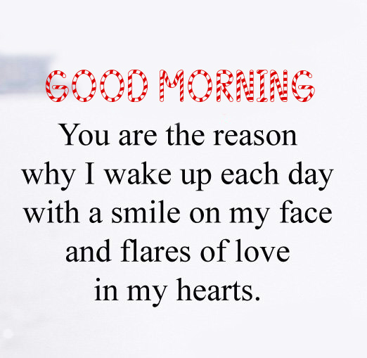 Good Morning Message with Darling