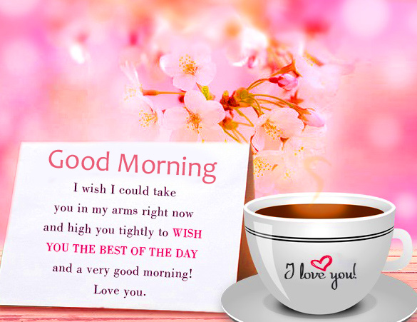 Good Morning Message with I Love You