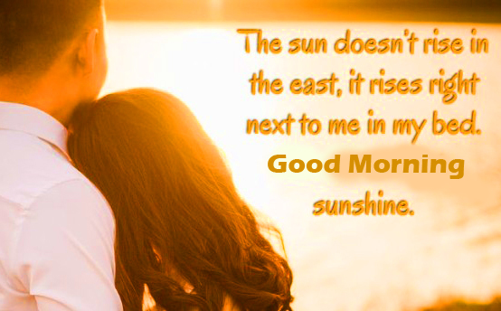 Good Morning Romantic Love Quotes
