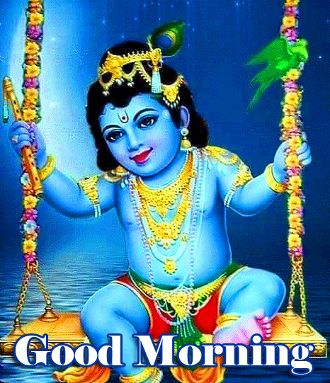 Good Morning Sri Krishna Photo