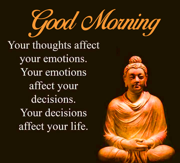 Good Morning Wallpaper with Buddha Quotes