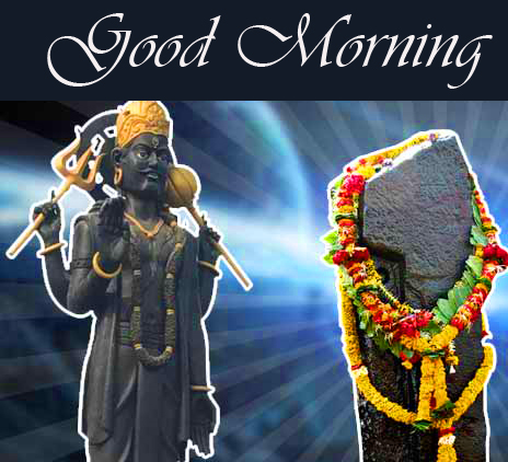 Good Morning Wallpaper with Shani Dev