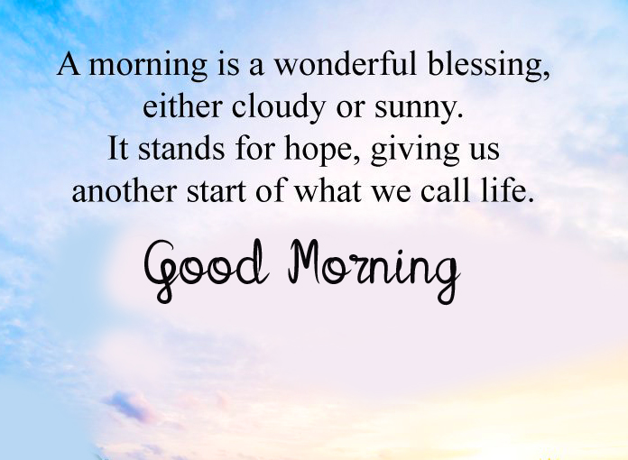 Good Morning Wish with Blessing Quotes