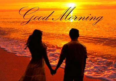 Good Morning Wish with Couple Picture HD