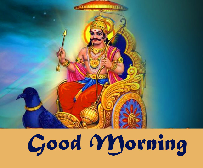 Good Morning Wish with Lovely Shani Dev