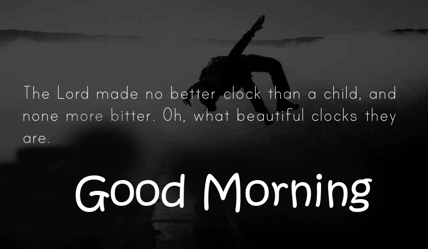 Good Morning Wish with Time Quotes